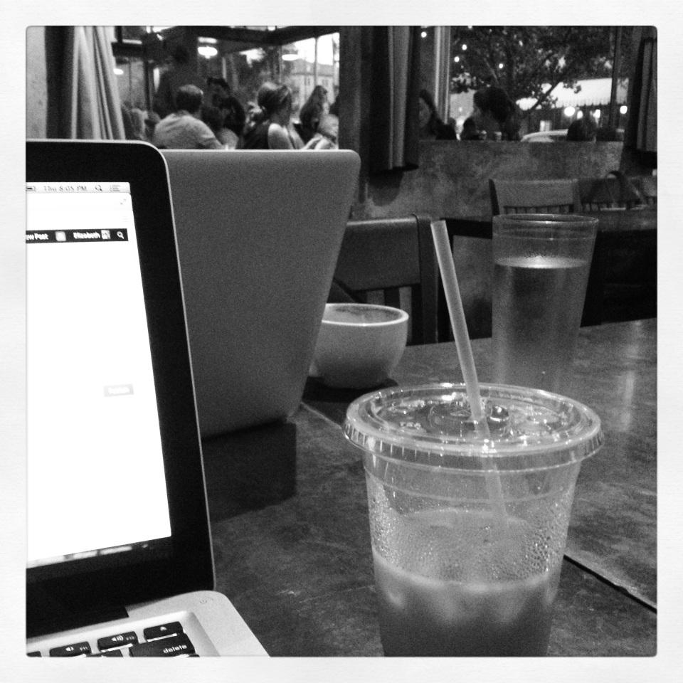 fido coffee shopping