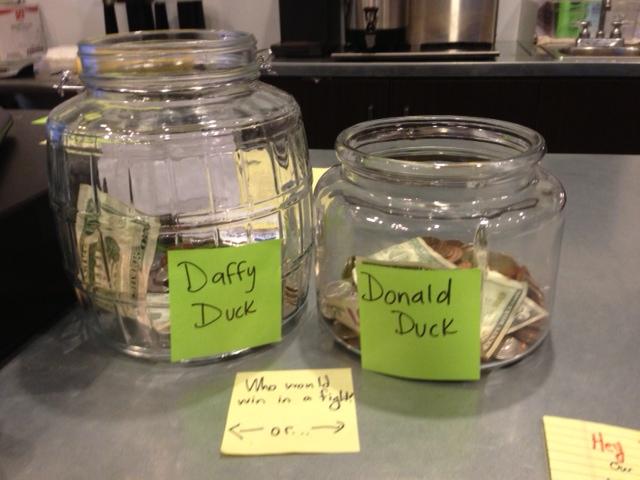 Bond Coffee Co Tip Jar