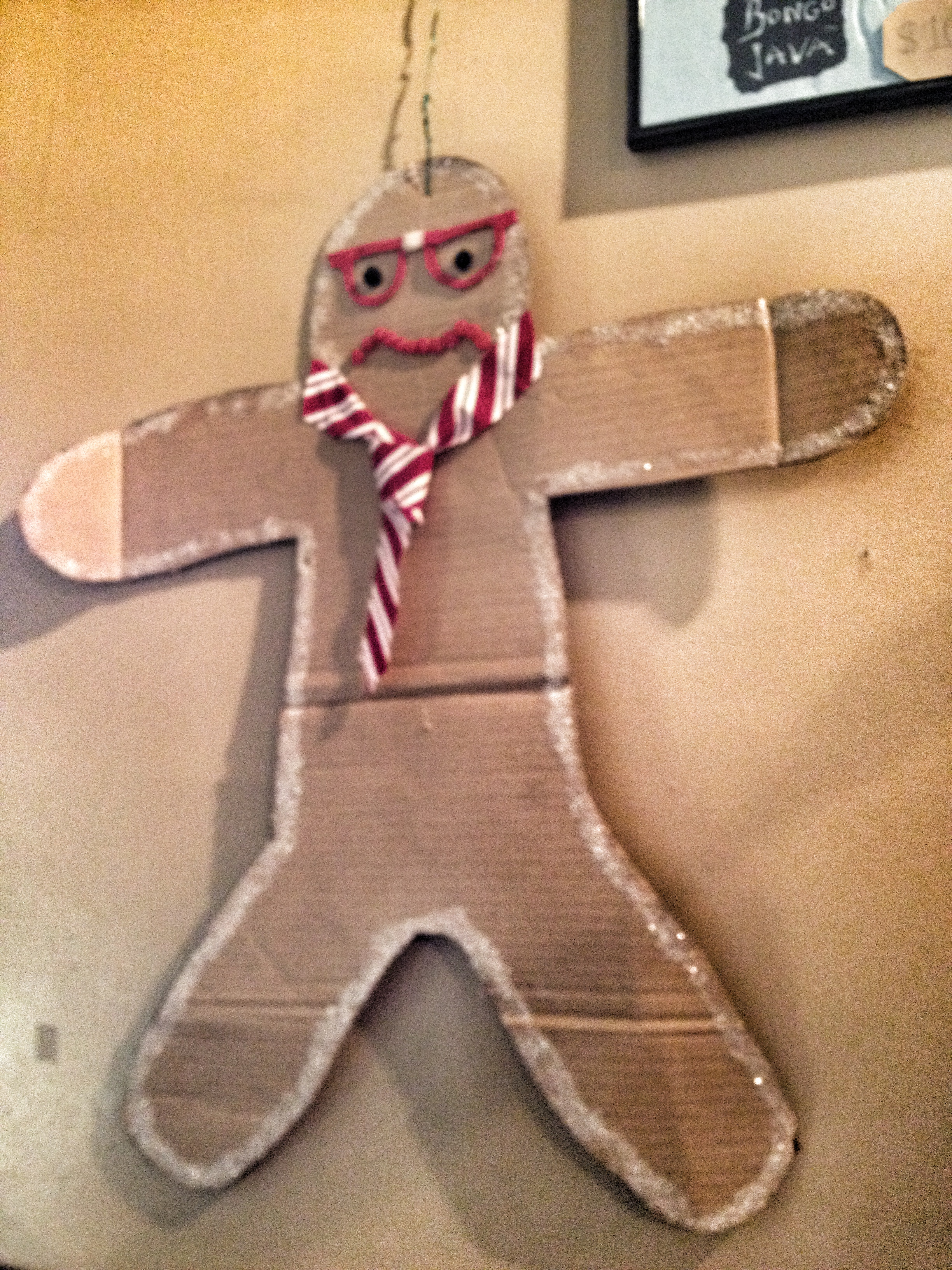 hipster gingerbread
