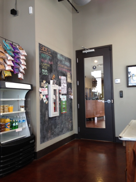 Coffee Lunch Chalkboard