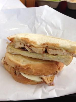 coffee lunch sandwich