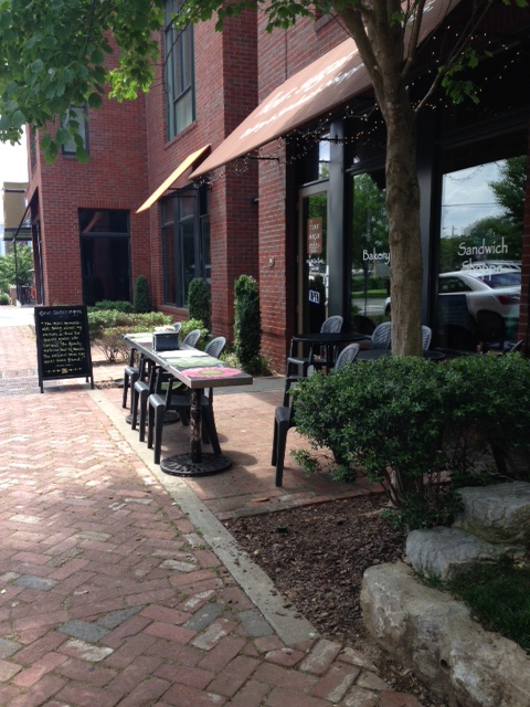FSE outdoor seating