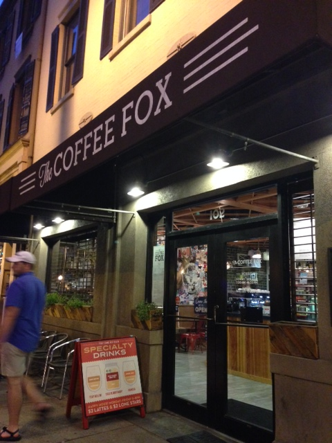 coffee fox exterior