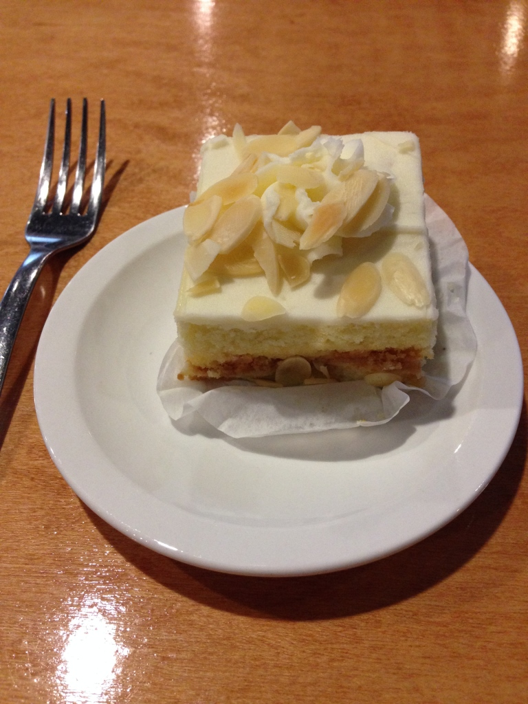 the post almond cake